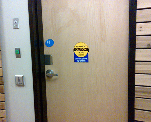 Fortress One Security Automatic Door Repairs Fortress